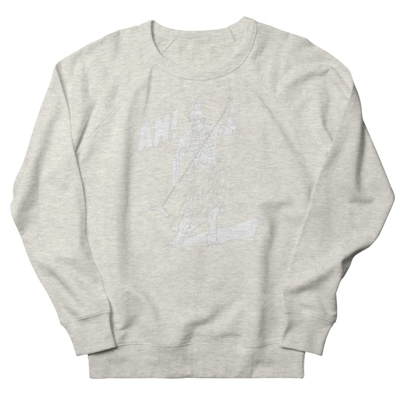 AH! Men's French Terry Sweatshirt by stickysyrups's Artist Shop