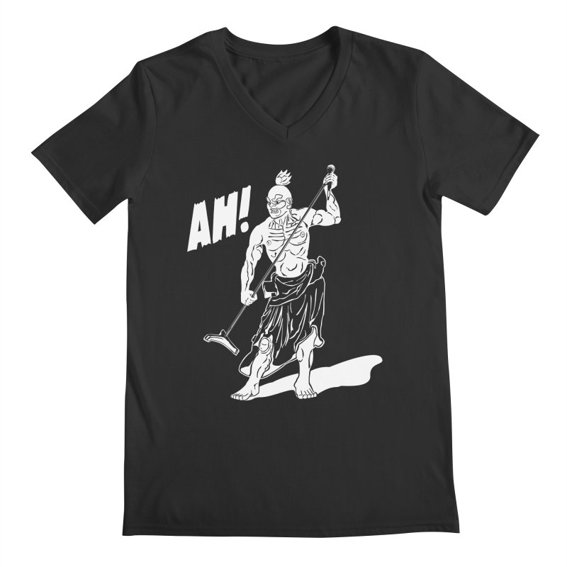 AH! Men's Regular V-Neck by stickysyrups's Artist Shop