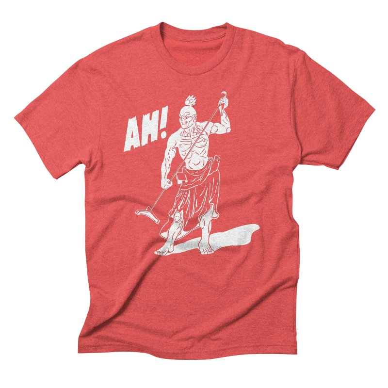 AH! Men's Triblend T-shirt by stickysyrups's Artist Shop