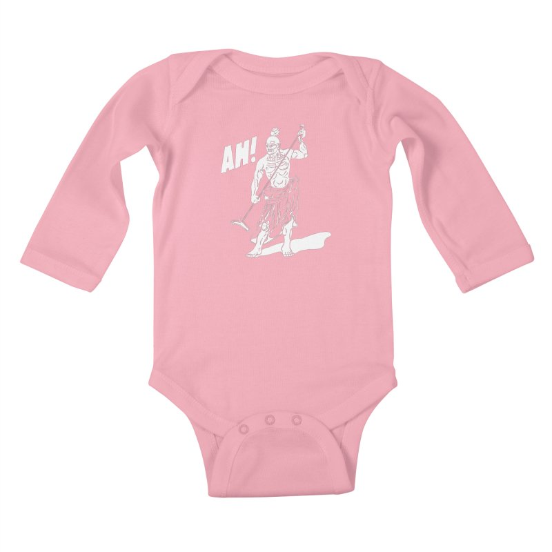 AH! Kids Baby Longsleeve Bodysuit by stickysyrups's Artist Shop