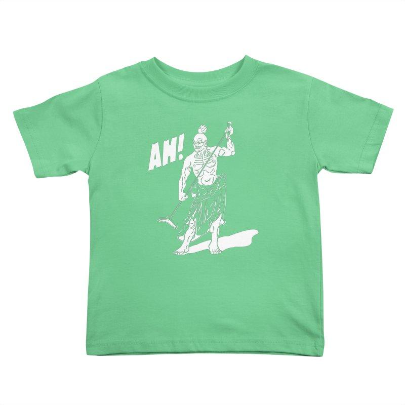 AH! Kids Toddler T-Shirt by stickysyrups's Artist Shop