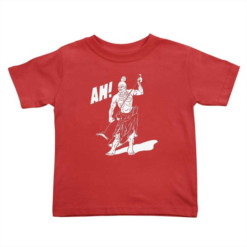 AH! Kids Toddler T-Shirt by stickysyrups's Artist Shop