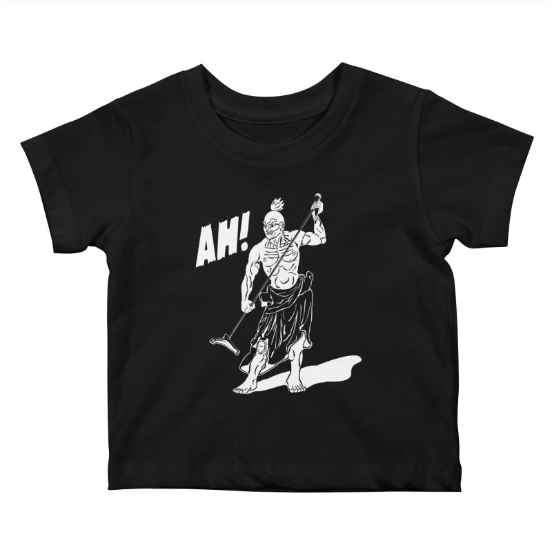 AH! Kids Baby T-Shirt by stickysyrups's Artist Shop