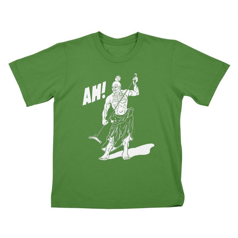 AH! Kids T-shirt by stickysyrups's Artist Shop