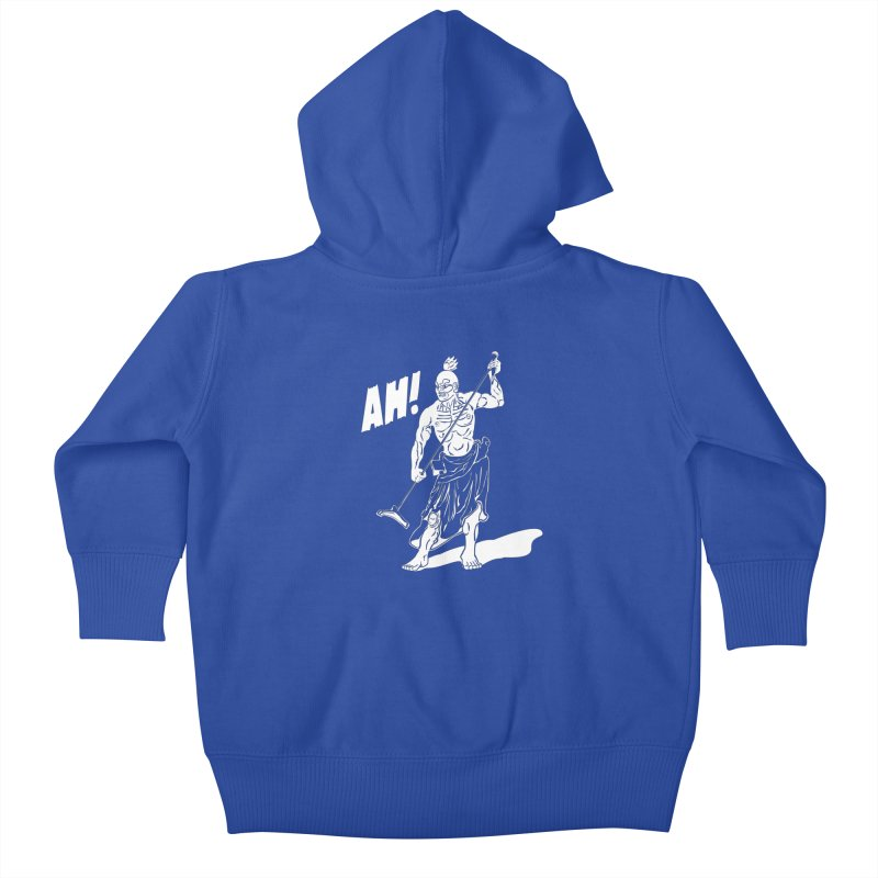AH! Kids Baby Zip-Up Hoody by stickysyrups's Artist Shop