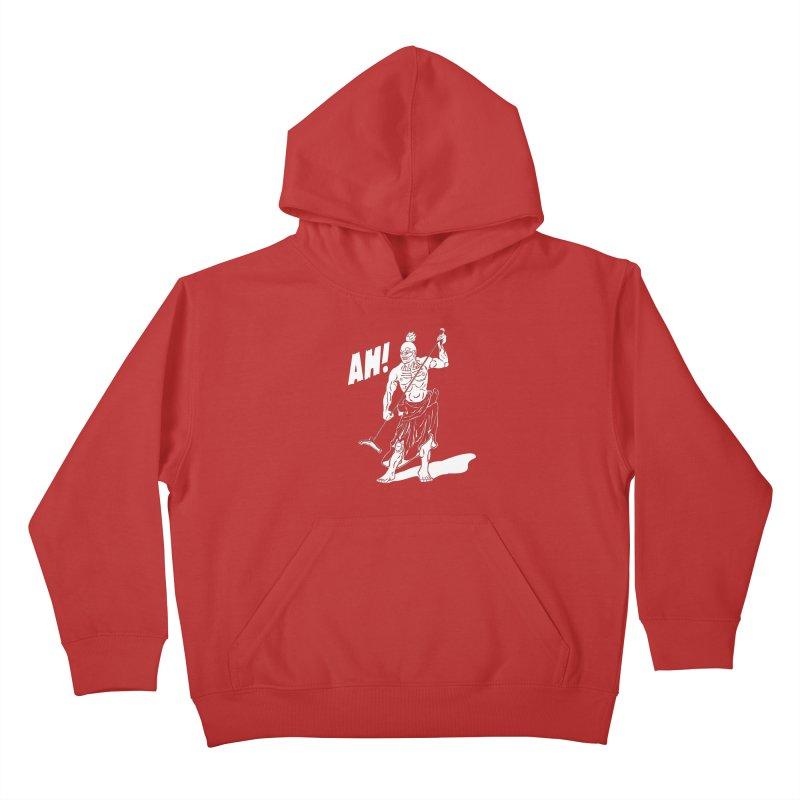 AH! Kids Pullover Hoody by stickysyrups's Artist Shop