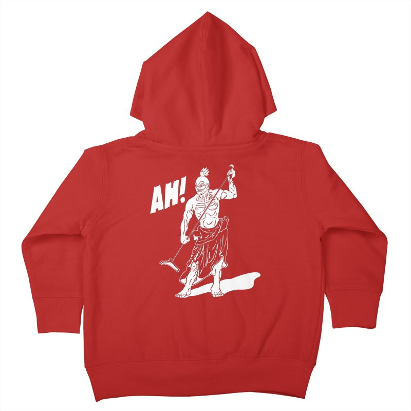 AH! Kids Toddler Zip-Up Hoody by stickysyrups's Artist Shop