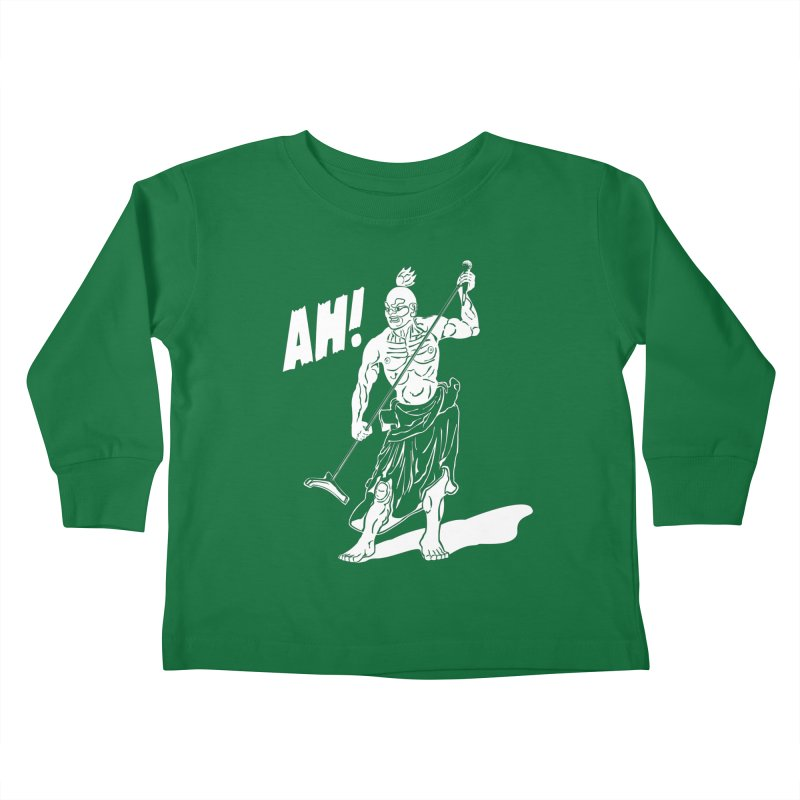 AH! Kids Toddler Longsleeve T-Shirt by stickysyrups's Artist Shop