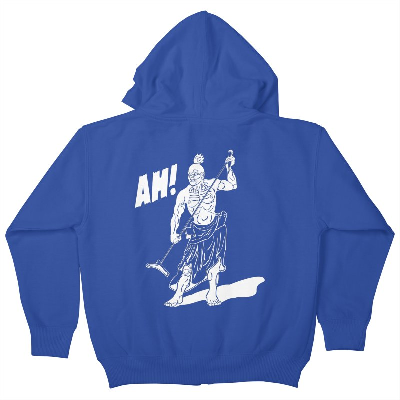 AH! Kids Zip-Up Hoody by stickysyrups's Artist Shop