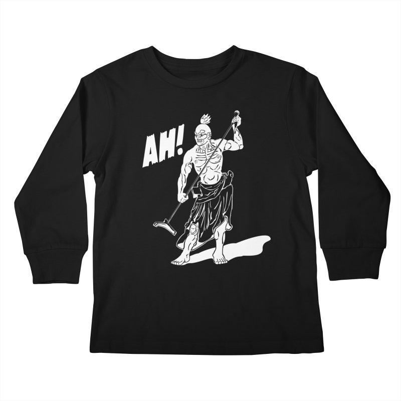 AH! Kids Longsleeve T-Shirt by stickysyrups's Artist Shop