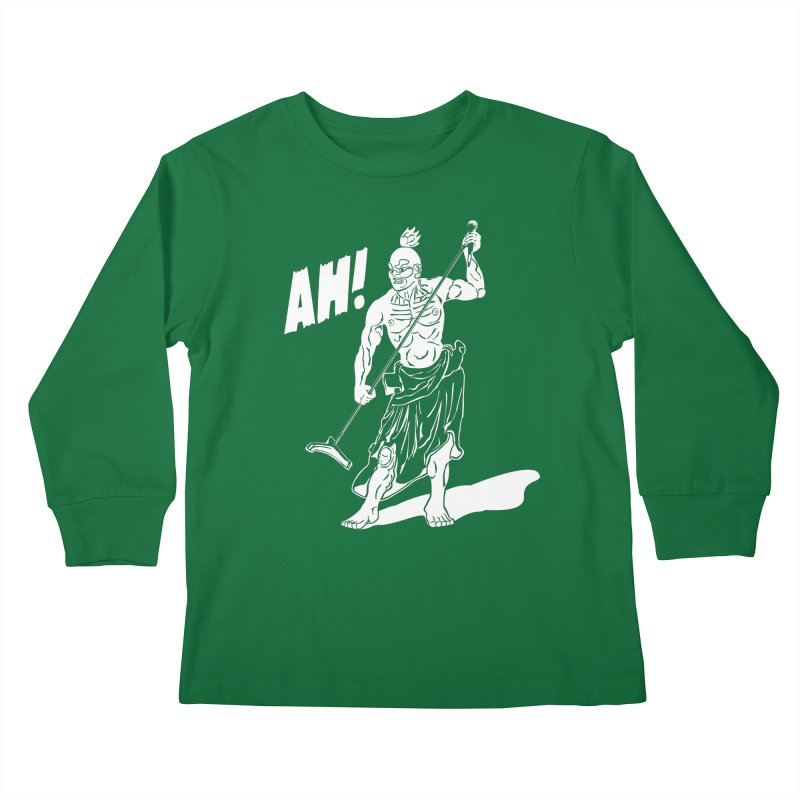 AH! Kids Longsleeve T-Shirt by stickysyrups's Artist Shop