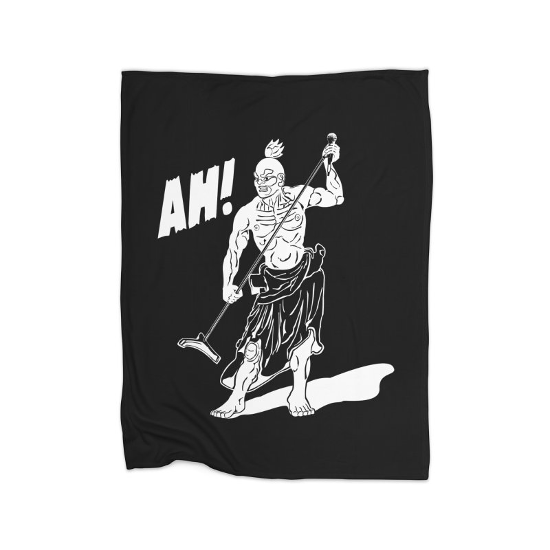 AH! Home Fleece Blanket Blanket by stickysyrups's Artist Shop