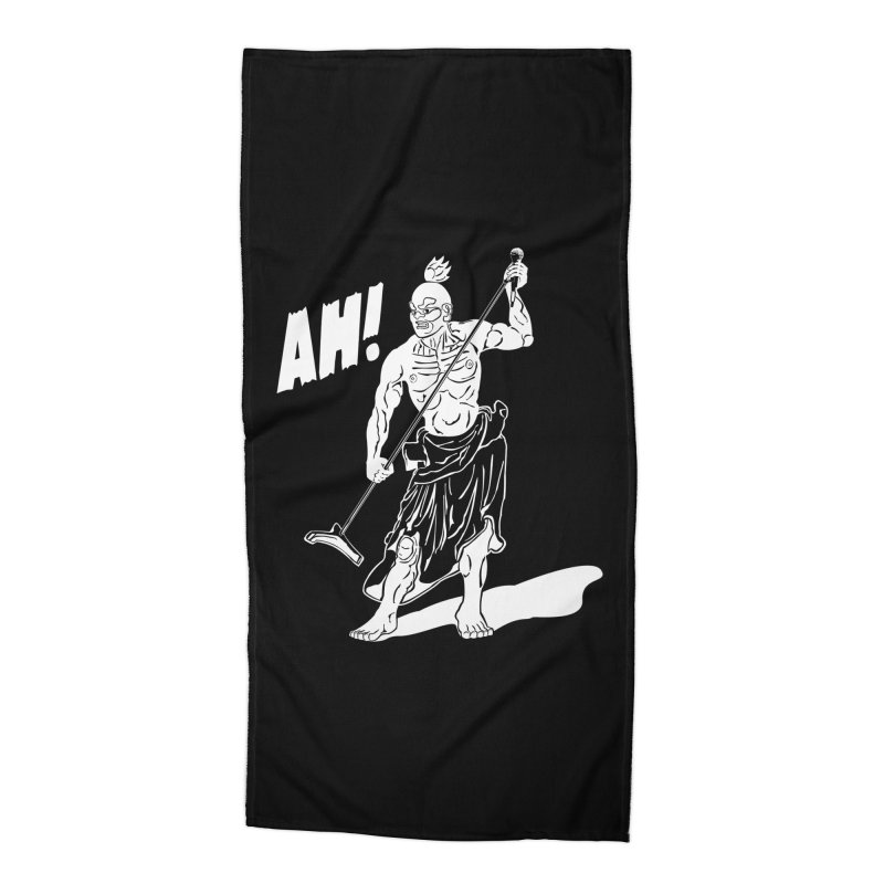 AH! Accessories Beach Towel by stickysyrups's Artist Shop