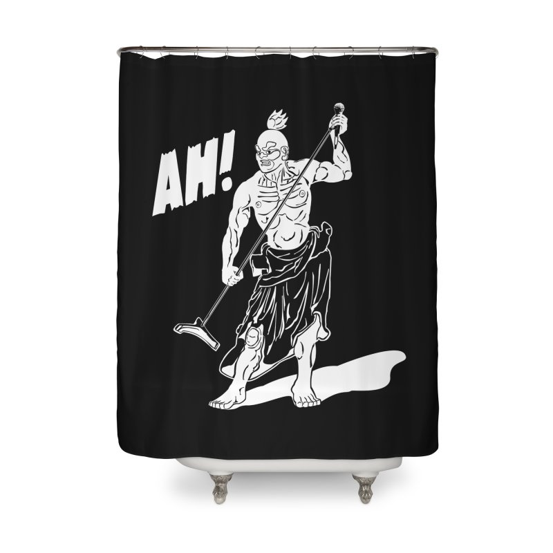 AH! Home Shower Curtain by stickysyrups's Artist Shop