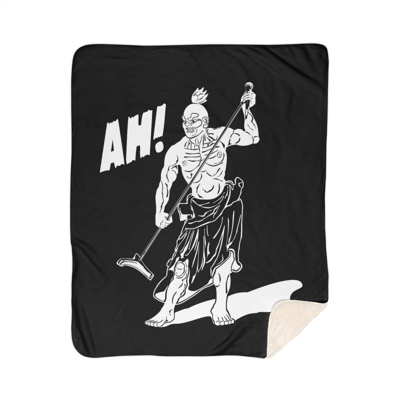 AH! Home Sherpa Blanket Blanket by stickysyrups's Artist Shop
