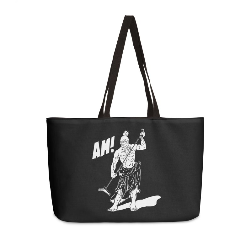 AH! Accessories Weekender Bag Bag by stickysyrups's Artist Shop