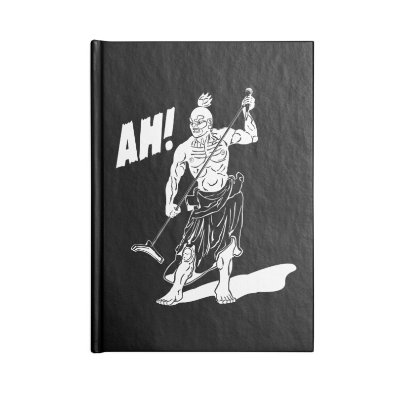 AH! Accessories Lined Journal Notebook by stickysyrups's Artist Shop