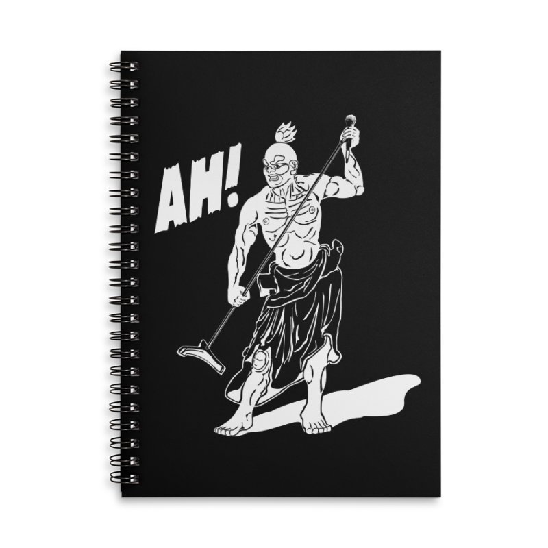 AH! Accessories Lined Spiral Notebook by stickysyrups's Artist Shop