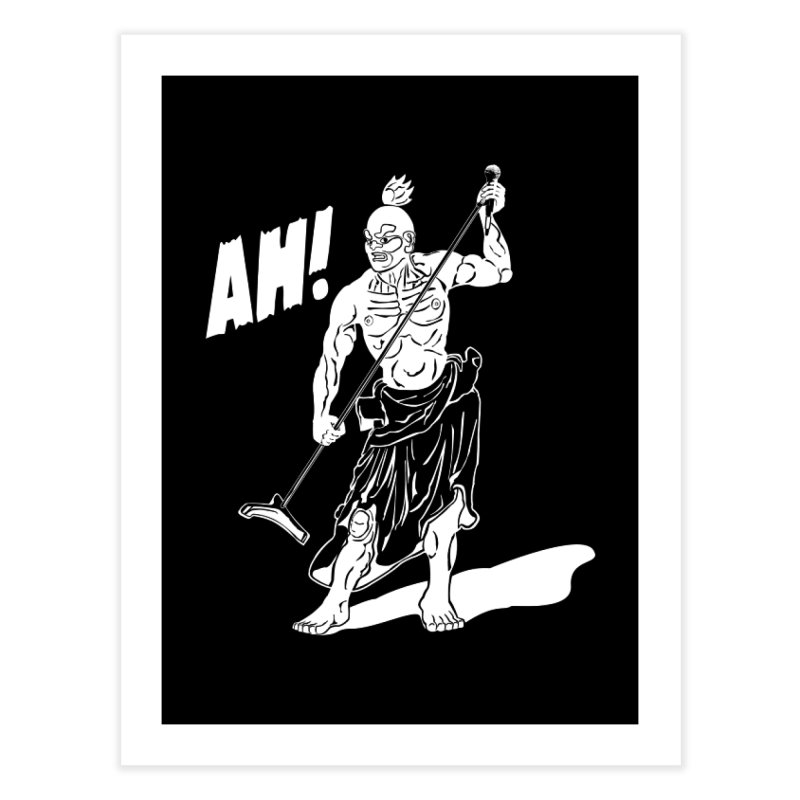AH! Home Fine Art Print by stickysyrups's Artist Shop
