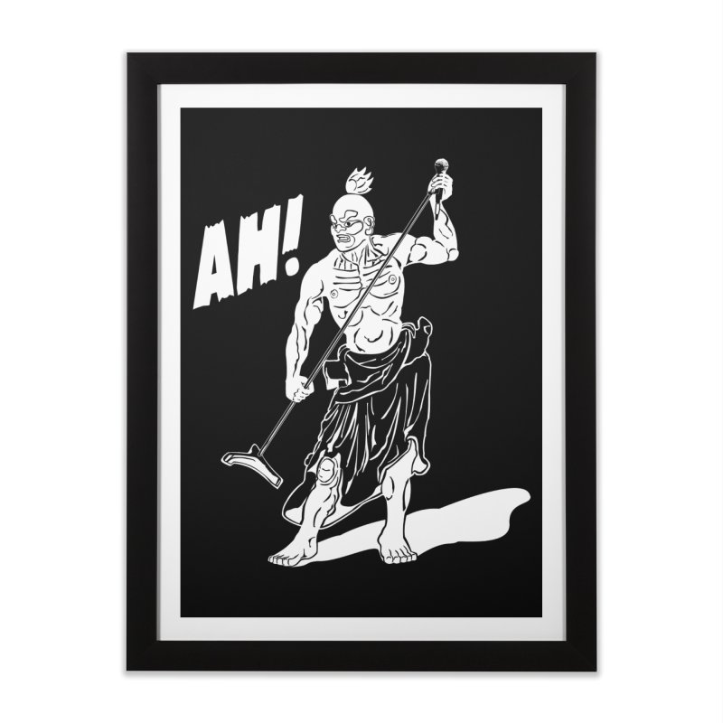 AH! Home Framed Fine Art Print by stickysyrups's Artist Shop
