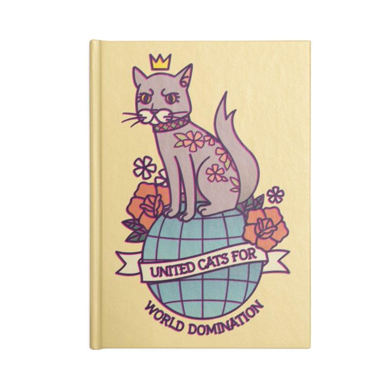 United Cats Accessories Notebook by stifflines's Artist Shop