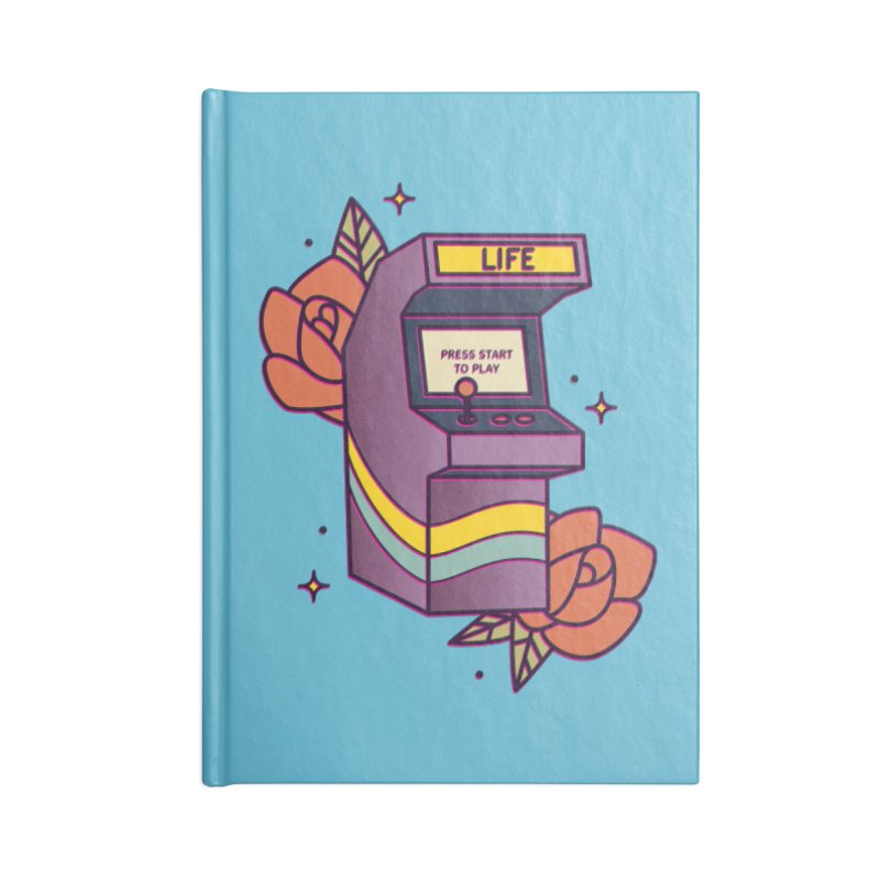Game of Life Accessories Notebook by stifflines's Artist Shop