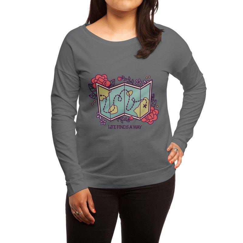 Life Finds a Way Women's Longsleeve T-Shirt by stifflines's Artist Shop