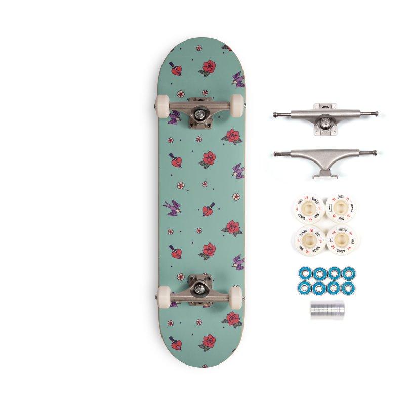 Old School Accessories Skateboard by stifflines's Artist Shop