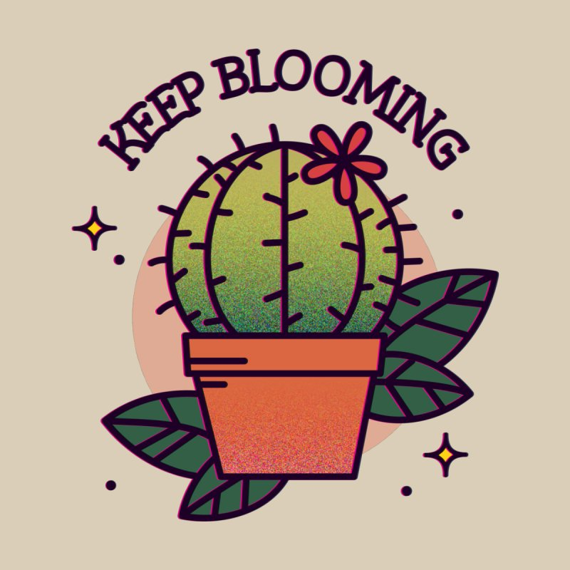 Keep Blooming by stifflines's Artist Shop