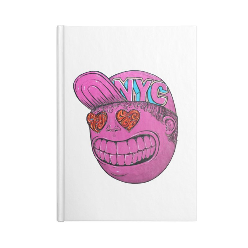 Waiting for the summer heat Accessories Lined Journal Notebook by Stiky Shop
