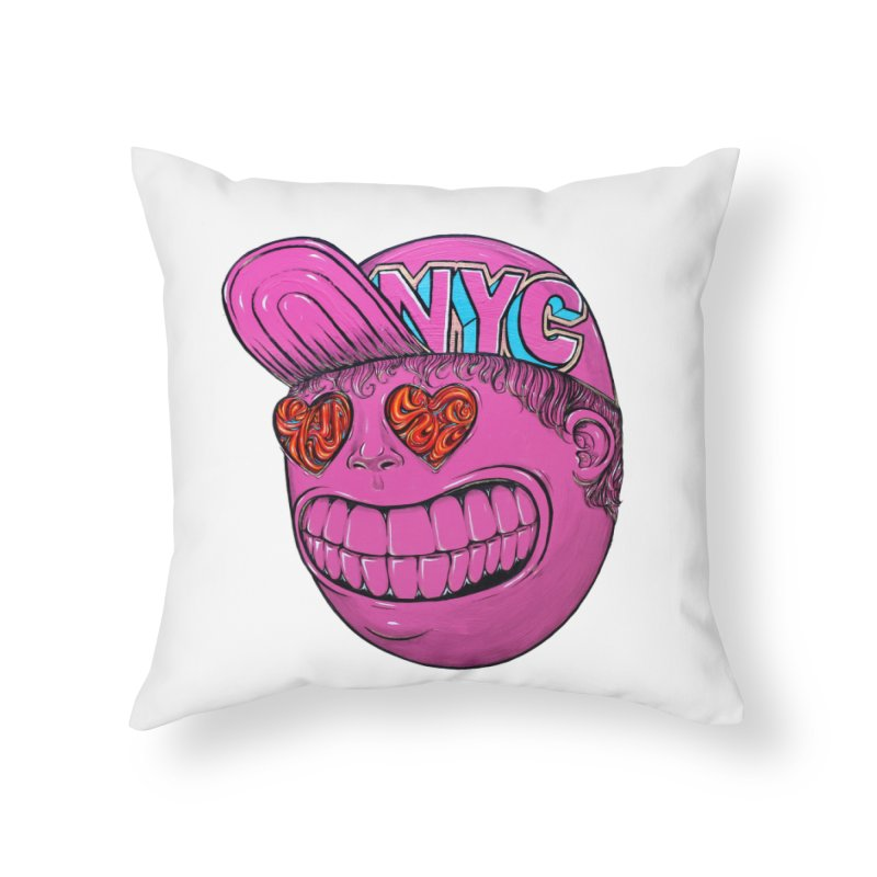Waiting for the summer heat Home Throw Pillow by Stiky Shop