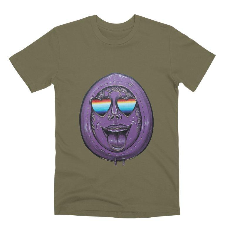Zombie Mouth Men's Premium T-Shirt by Stiky Shop
