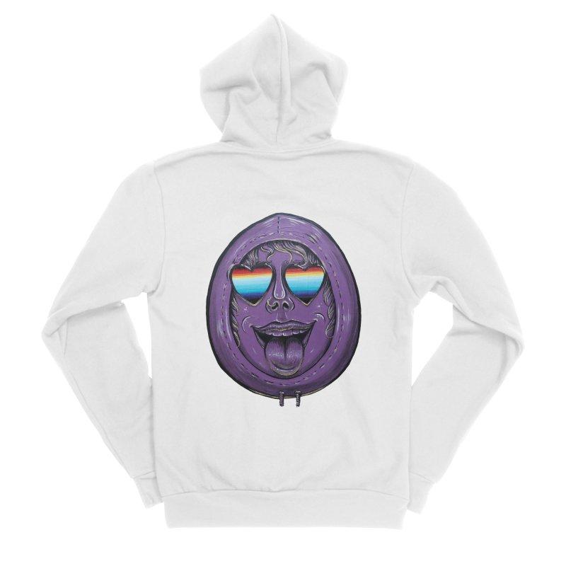 Zombie Mouth Men's Sponge Fleece Zip-Up Hoody by Stiky Shop