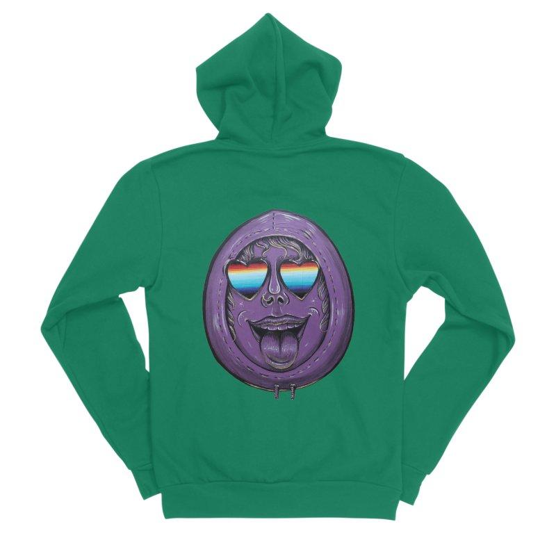 Zombie Mouth Women's Sponge Fleece Zip-Up Hoody by Stiky Shop