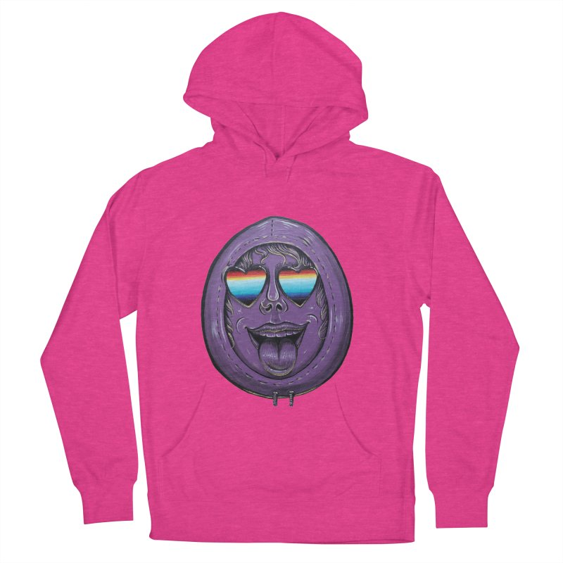 Zombie Mouth Men's French Terry Pullover Hoody by Stiky Shop