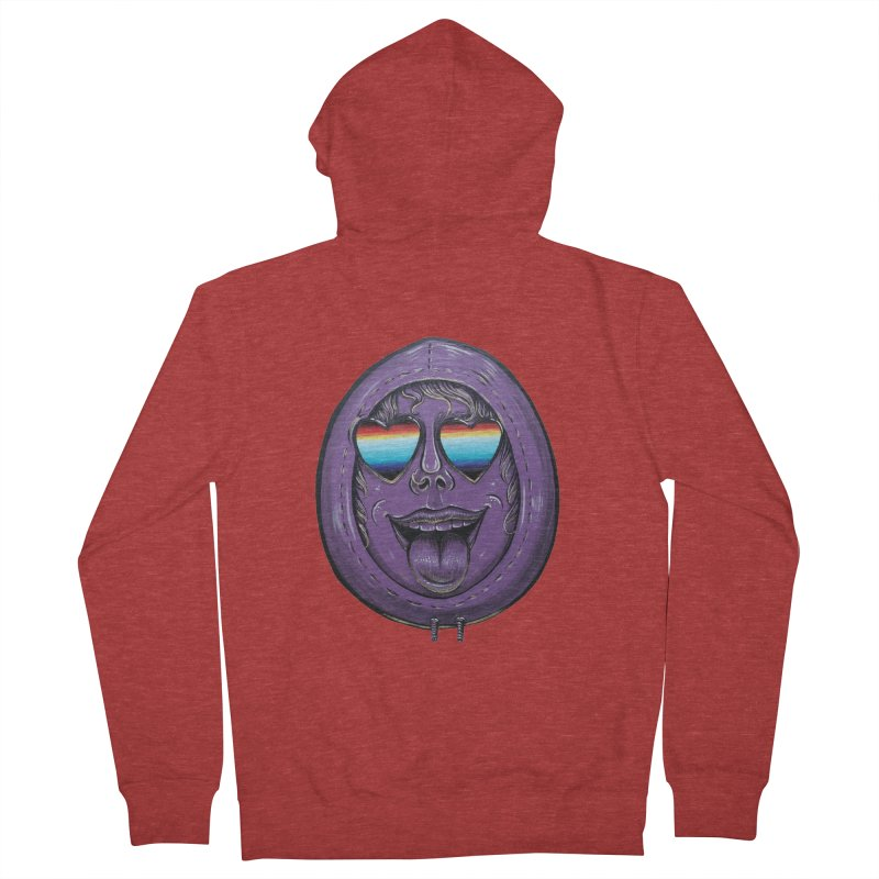 Zombie Mouth Women's French Terry Zip-Up Hoody by Stiky Shop