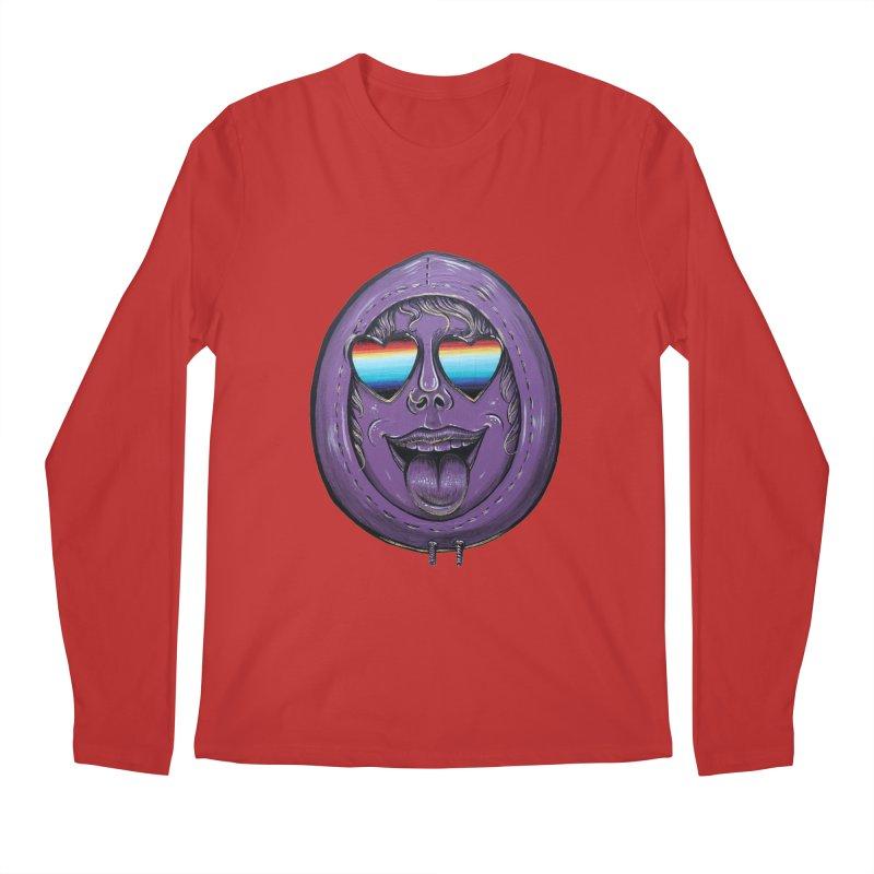 Zombie Mouth Men's Regular Longsleeve T-Shirt by Stiky Shop