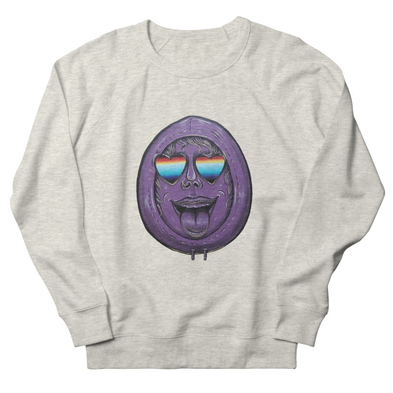 Zombie Mouth Women's French Terry Sweatshirt by Stiky Shop