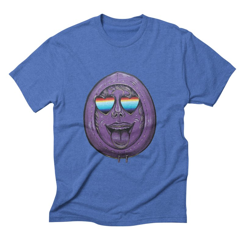 Zombie Mouth Men's Triblend T-Shirt by Stiky Shop