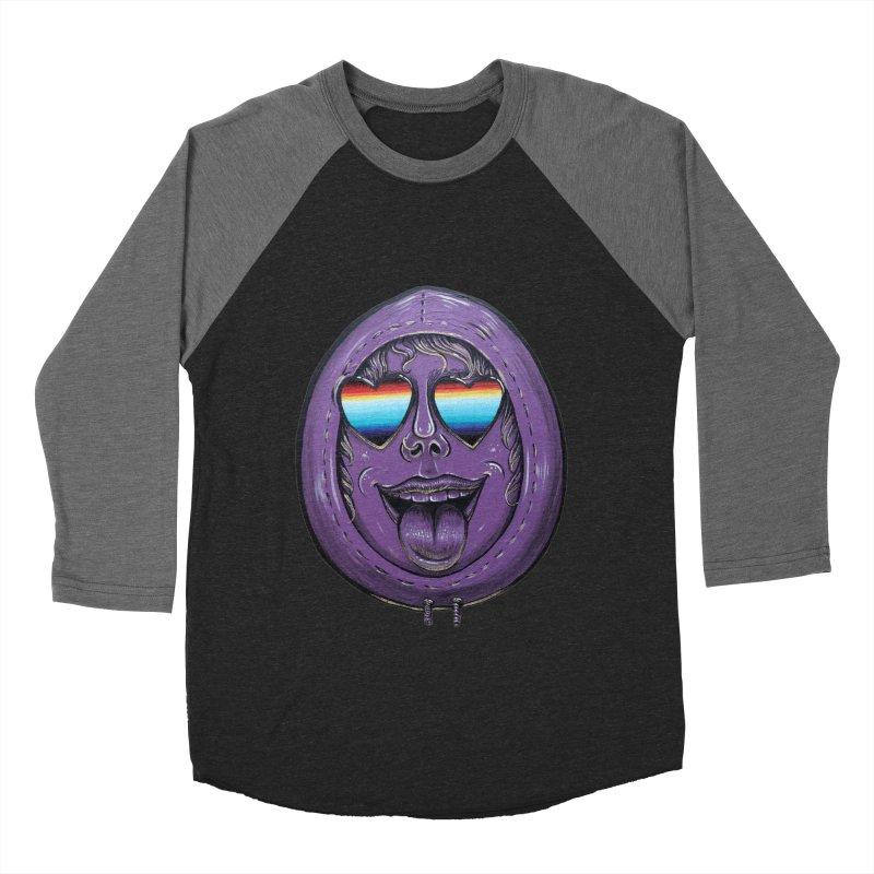 Zombie Mouth Men's Baseball Triblend Longsleeve T-Shirt by Stiky Shop