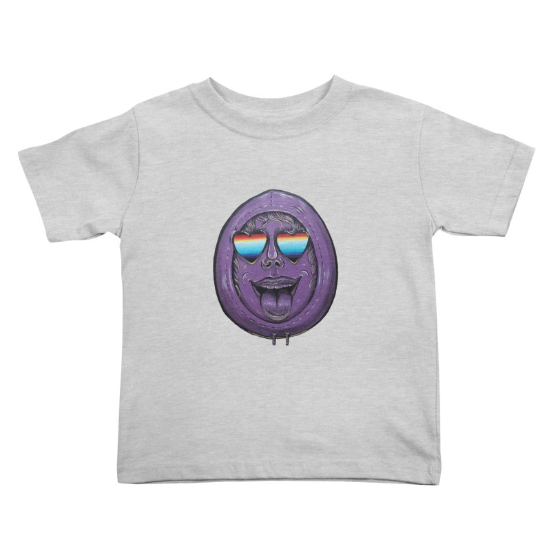 Zombie Mouth Kids Toddler T-Shirt by Stiky Shop