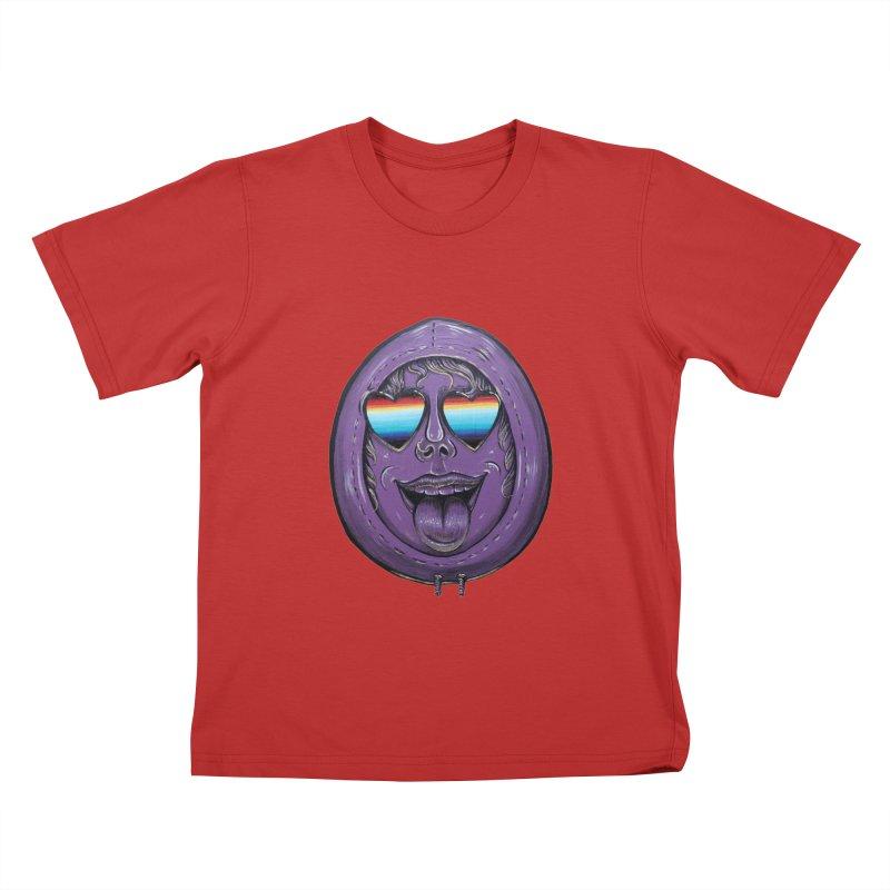 Zombie Mouth Kids T-Shirt by Stiky Shop