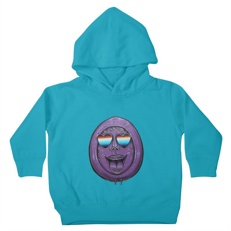 Zombie Mouth Kids Toddler Pullover Hoody by Stiky Shop