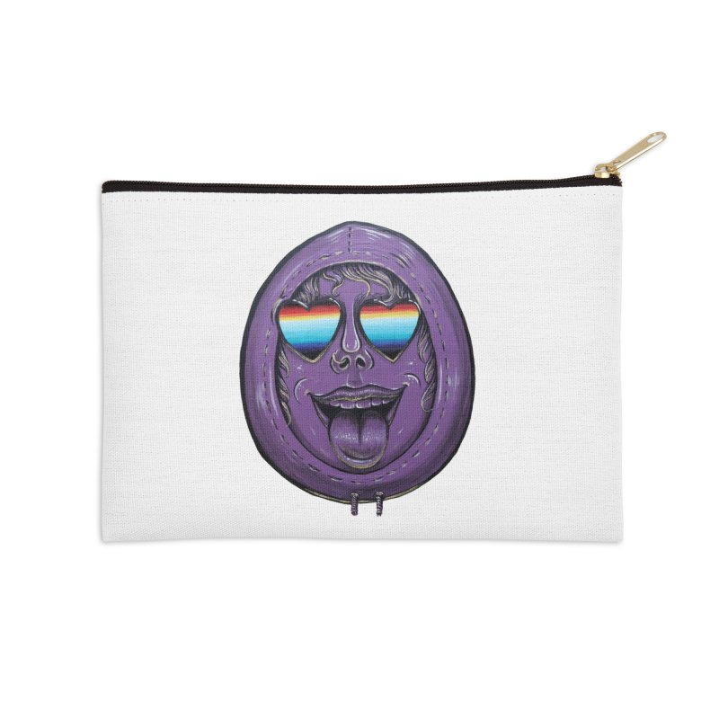 Zombie Mouth Accessories Zip Pouch by Stiky Shop
