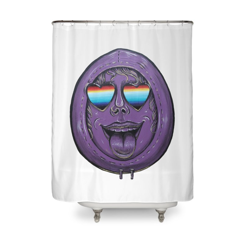 Zombie Mouth Home Shower Curtain by Stiky Shop