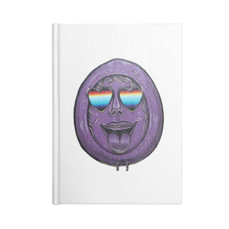 Zombie Mouth Accessories Lined Journal Notebook by Stiky Shop