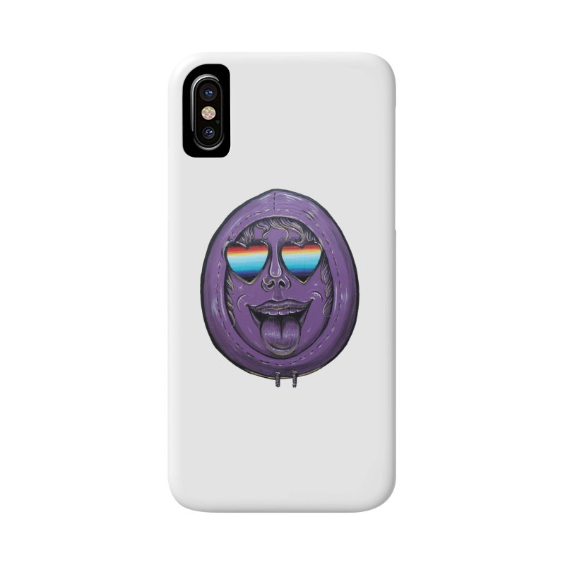 Zombie Mouth Accessories Phone Case by Stiky Shop