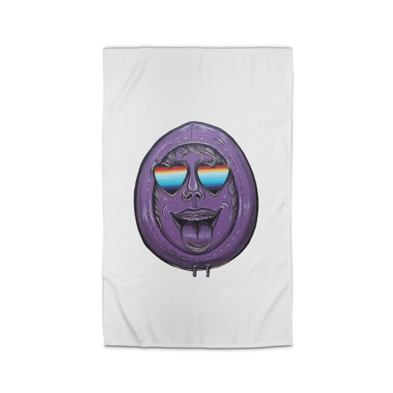 Zombie Mouth Home Rug by Stiky Shop