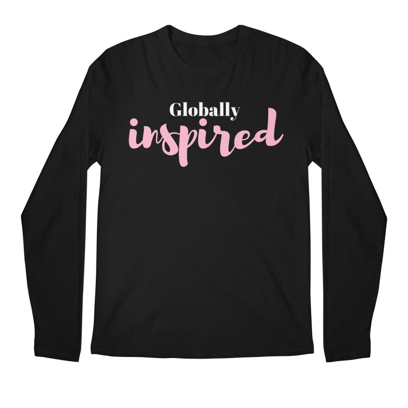 Globally Inspired Men's Regular Longsleeve T-Shirt by Tees by Fashionably Femme