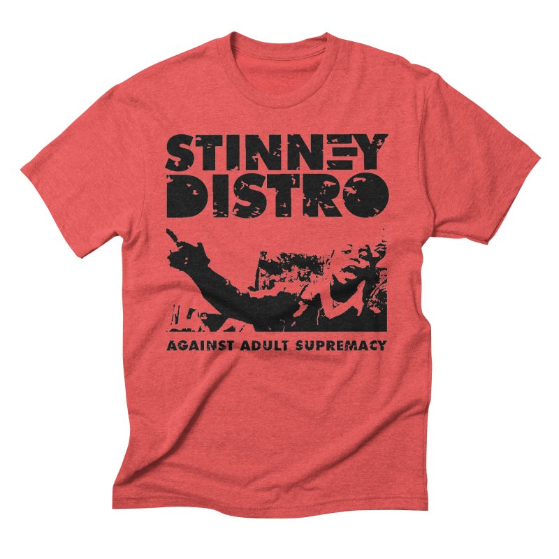 Against Adult Supremacy Men's T-Shirt by STINNEY DISTRO